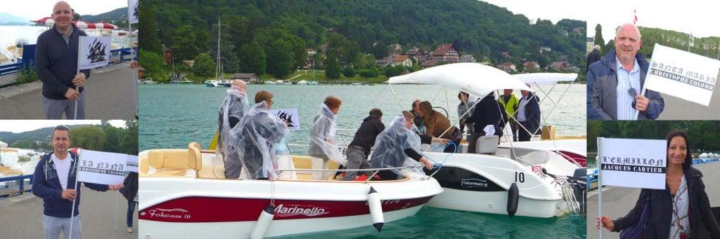 Rallye bateau Annecy
