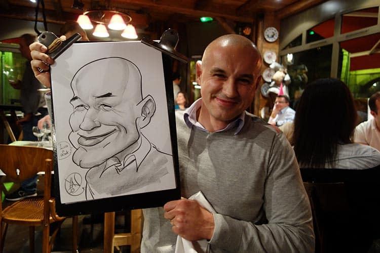 Annecy caricaturiste