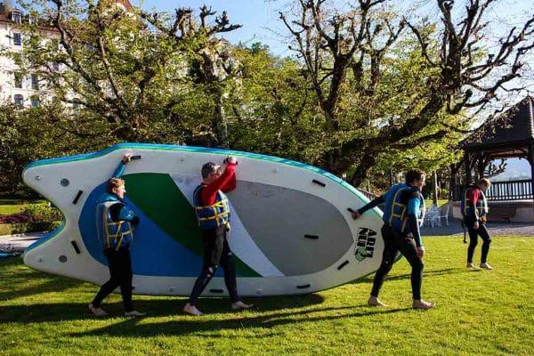 Paddle Géant à Annecy
